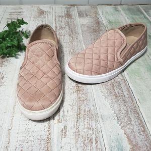 Steve Madden Eventrcq Faux Leather Slip On Flats 6